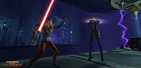 Star Wars: The Old Republic - Force Choke the Enemy